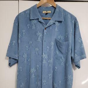 Tommy Bahama tropical mens shirt. L